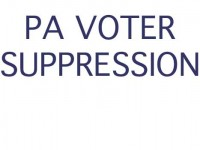 Action Alert: PA Voter Suppression Bill Vote Coming.