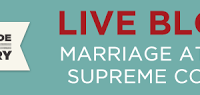 Live Blog for Marriage Equality