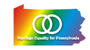 Pennsylvania and Marriage Equality: Me and my legal husband.