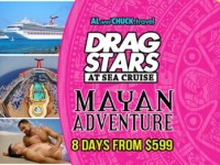 A gay man goes on vacation: Drag Stars at Sea cruise