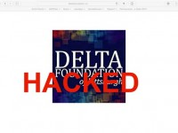 Delta Foundation Web Site Hacked
