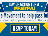 Equality PA and Day of Action for #FairPA